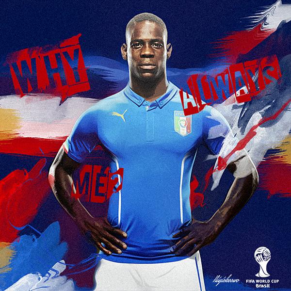 Dope Brazil 2014 World Cup Fan Poster by Niyi Okeowo