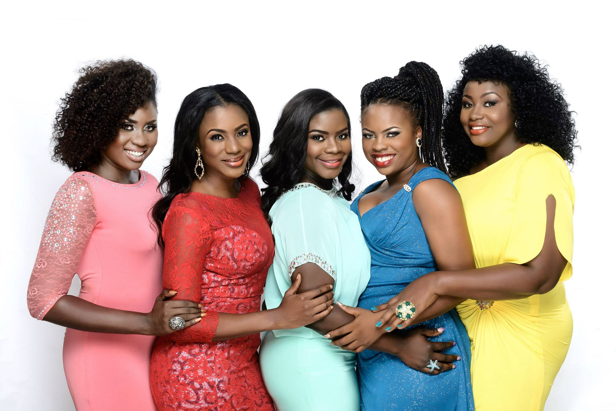 Oh wow! Leading ladies on Lekki Wives glow in photoshoot