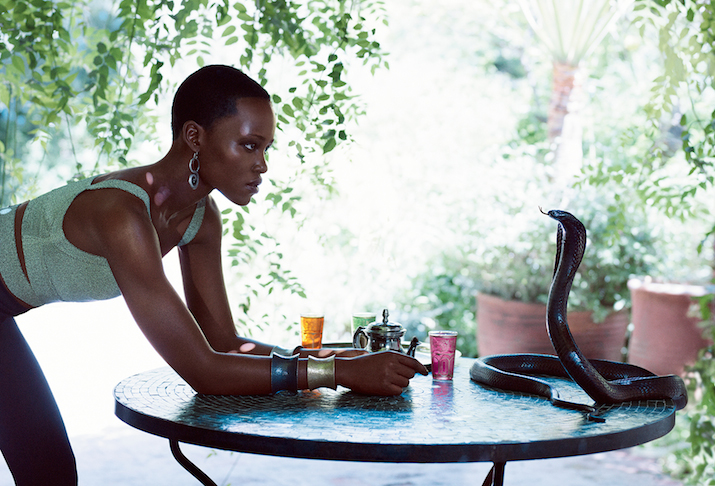 Oh Lupita! …dazzling on the cover of Vogue!