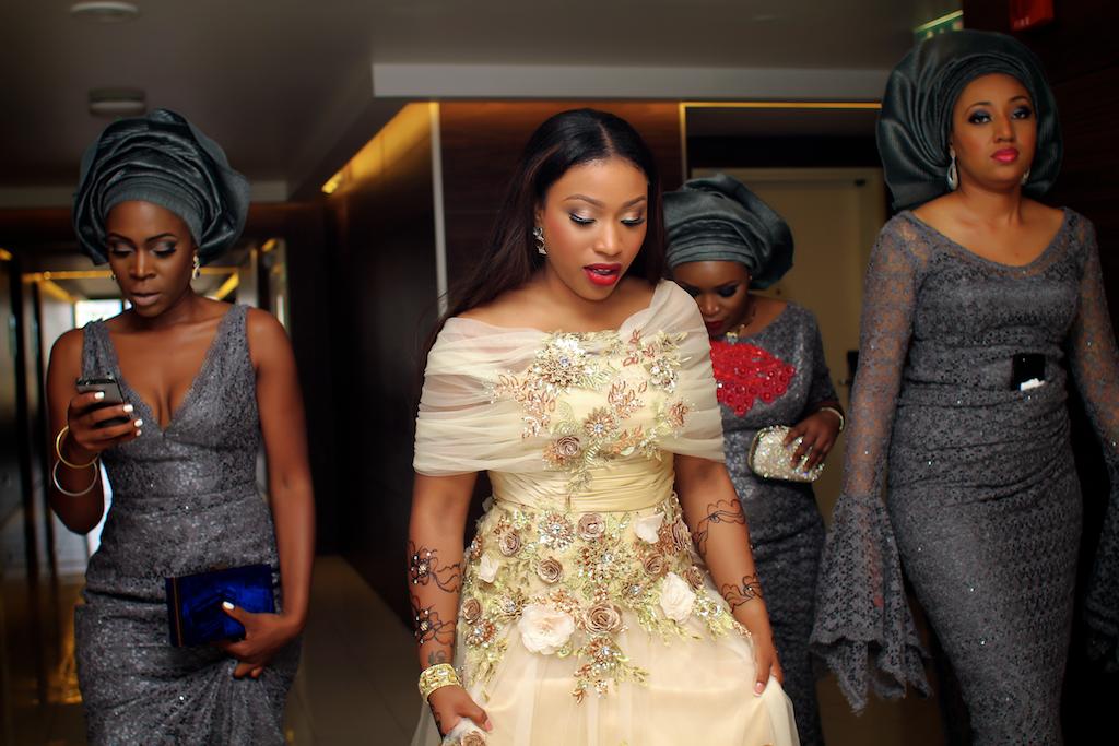Mrs Karimot Tukur: One bride, four fabulous looks