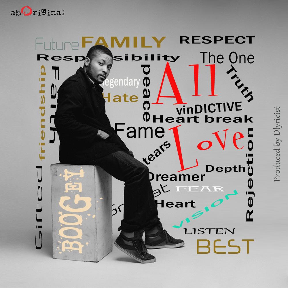 "Listen, watch, download! Boogey's ""All Love"""