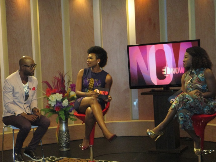 Mo Abudu hosts guests at the Tinapa Studios to celebrate EbonyLife TV's first Anniversary