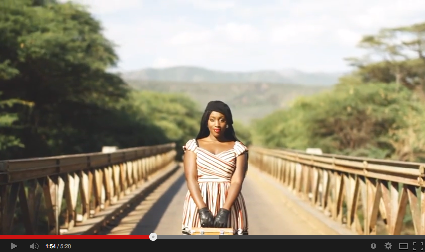 """Kenyan singer Mayonde releases video for her song """"Rise"""""""