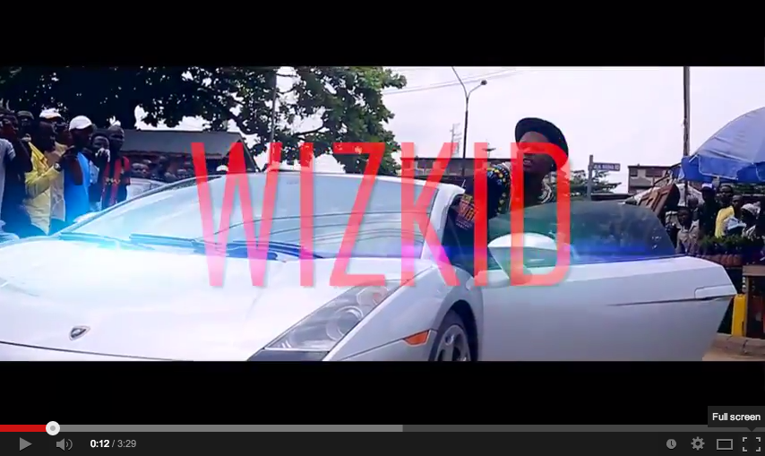Watch this!  WizKid: Show You The Money