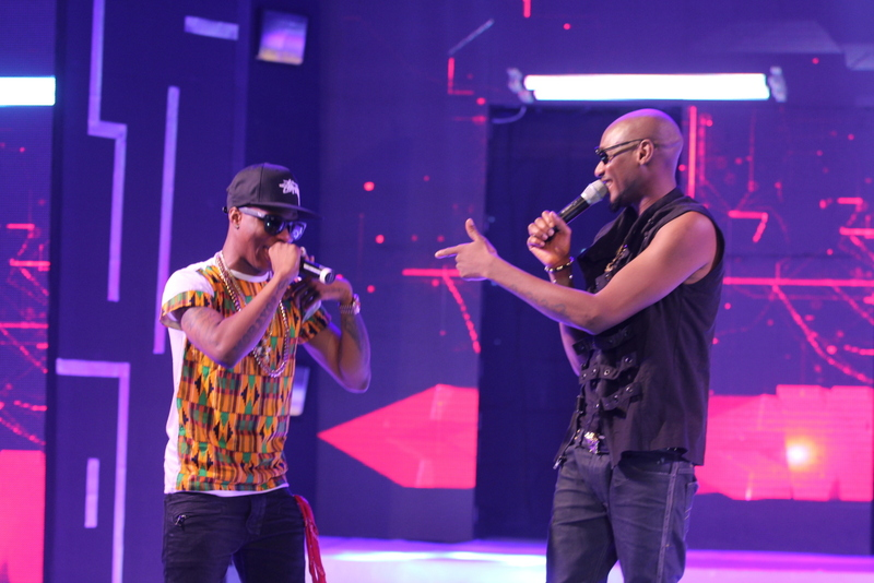 Wizkid & Tuface shine at Hennessy Artistry concert in Ghana