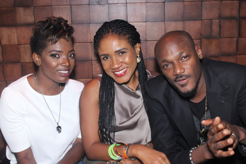 2Face & Annie Idibia, Sound Sultan, DJ Xclusive, DJ Humility, Others Party With Chris Brown's DJ Babey Drew At Heineken Green Light