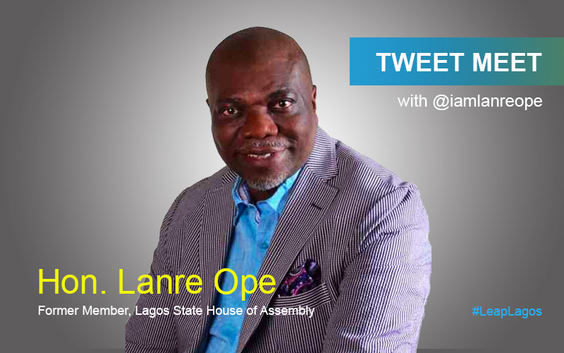 Upcoming: #TweetMeet with Hon. Lanre Ope