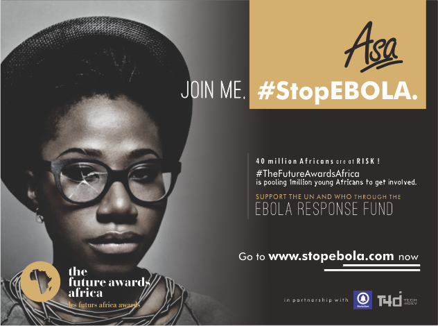 Omotola, Genevieve, Asa, lead The Future Awards Africa campaign to #StopEbola