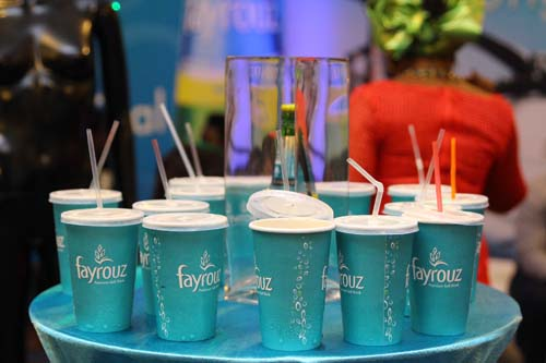 FAYROUZ L'ORIGINAL WINNERS, TEAM ELAN DAZZLE GUESTS AT LAGOS FASHION AND DESIGN WEEK 2014.