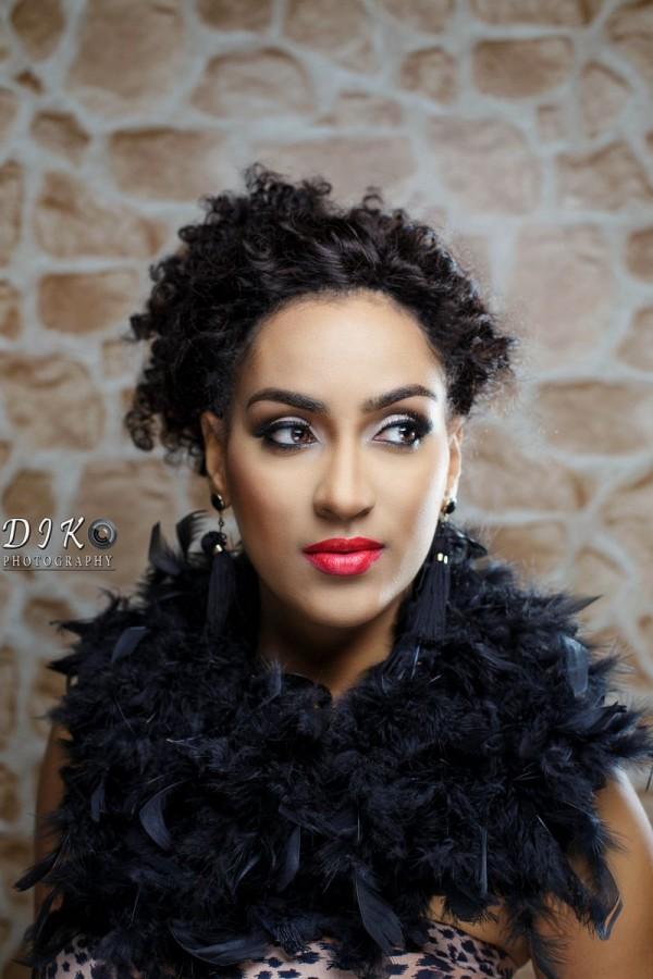 "Ghanaian beauty, Juliet Ibrahim, covers season 4 of ""Celebrity Shoot"" by Abbyke Domina"