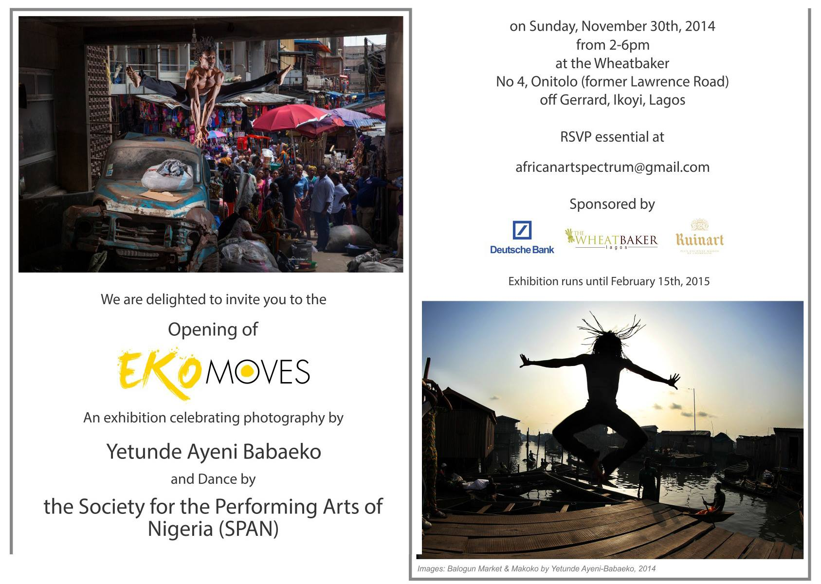 Upcoming Exhibition: Eko Moves by Yetunde Ayeni Babaeko
