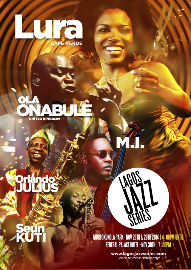 #Countdown to 2014 edition of the Lagos Jazz Series