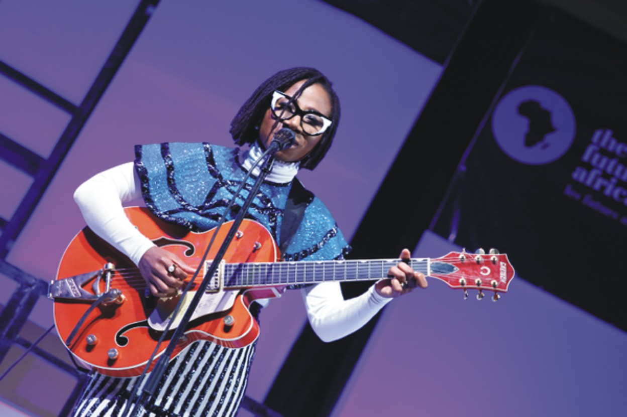 ASA PERFORMS FROM NEW ALBUM, 'BED OF STONE' AT THE FUTURE AWARDS AFRICA 2014