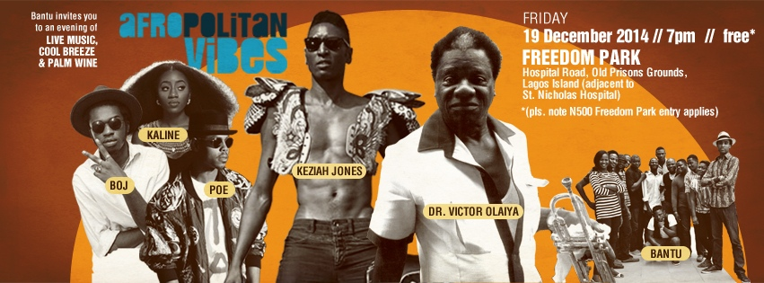 Upcoming Event:  Afropolitan Vibes, December Edition