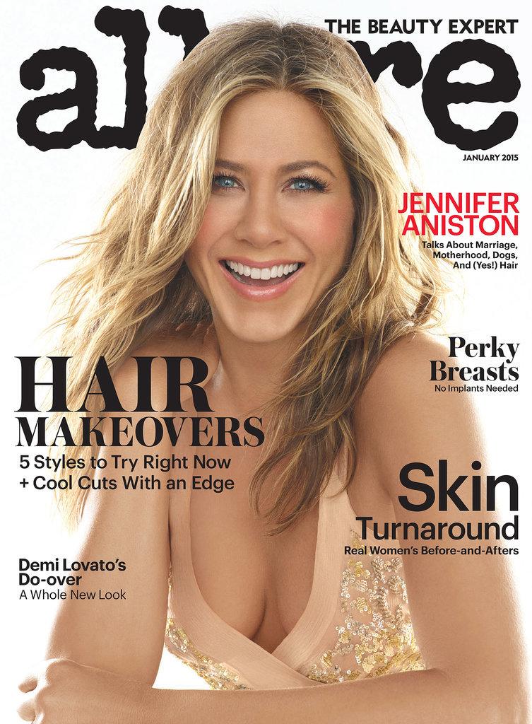 Jennifer Aniston Goes Topless For Allure Magazine