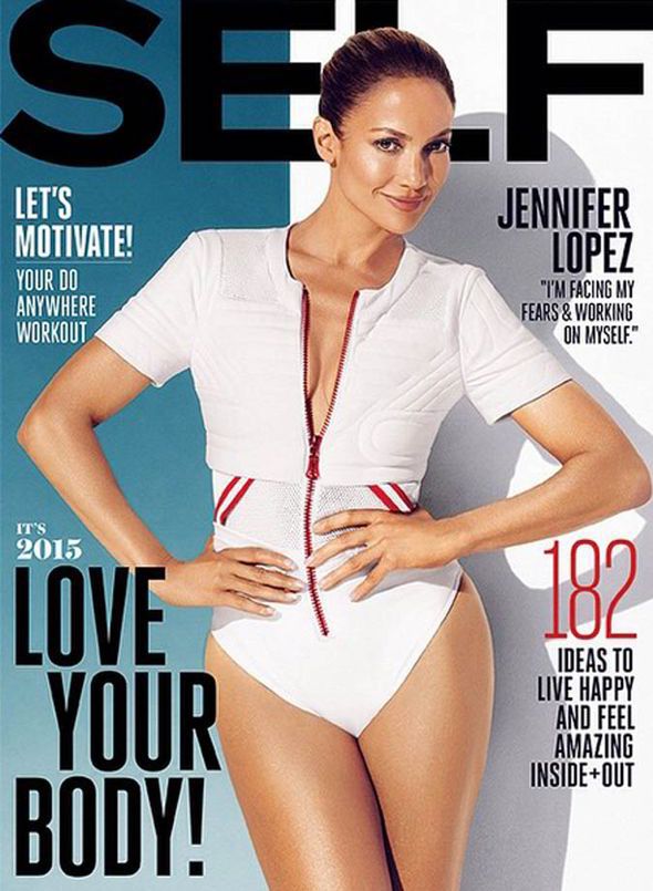 Jennifer Lopez Slays On The Cover Of Self's January Issue