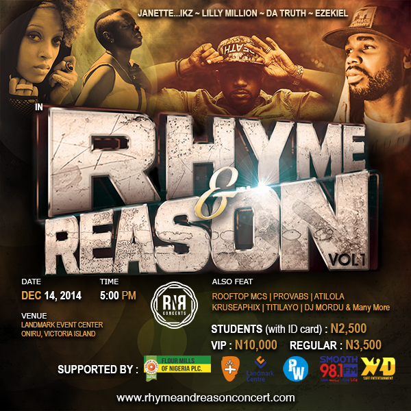 The Rhyme and Reason Concert