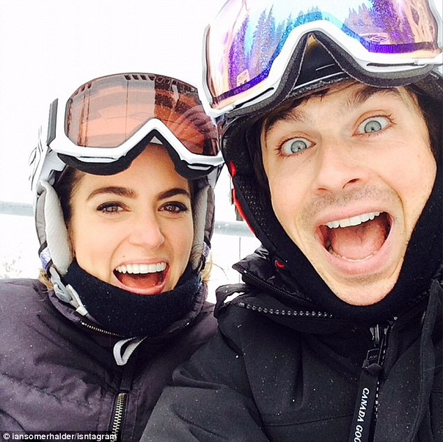Picture Of The Day; Ian Somerhalder and Nikki Reed Vacation In Idaho!