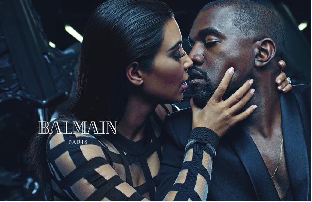 "Balmain's ""Army of Lovers"" Campaign enlists Kim Kardashian and Kanye West #KimYe"
