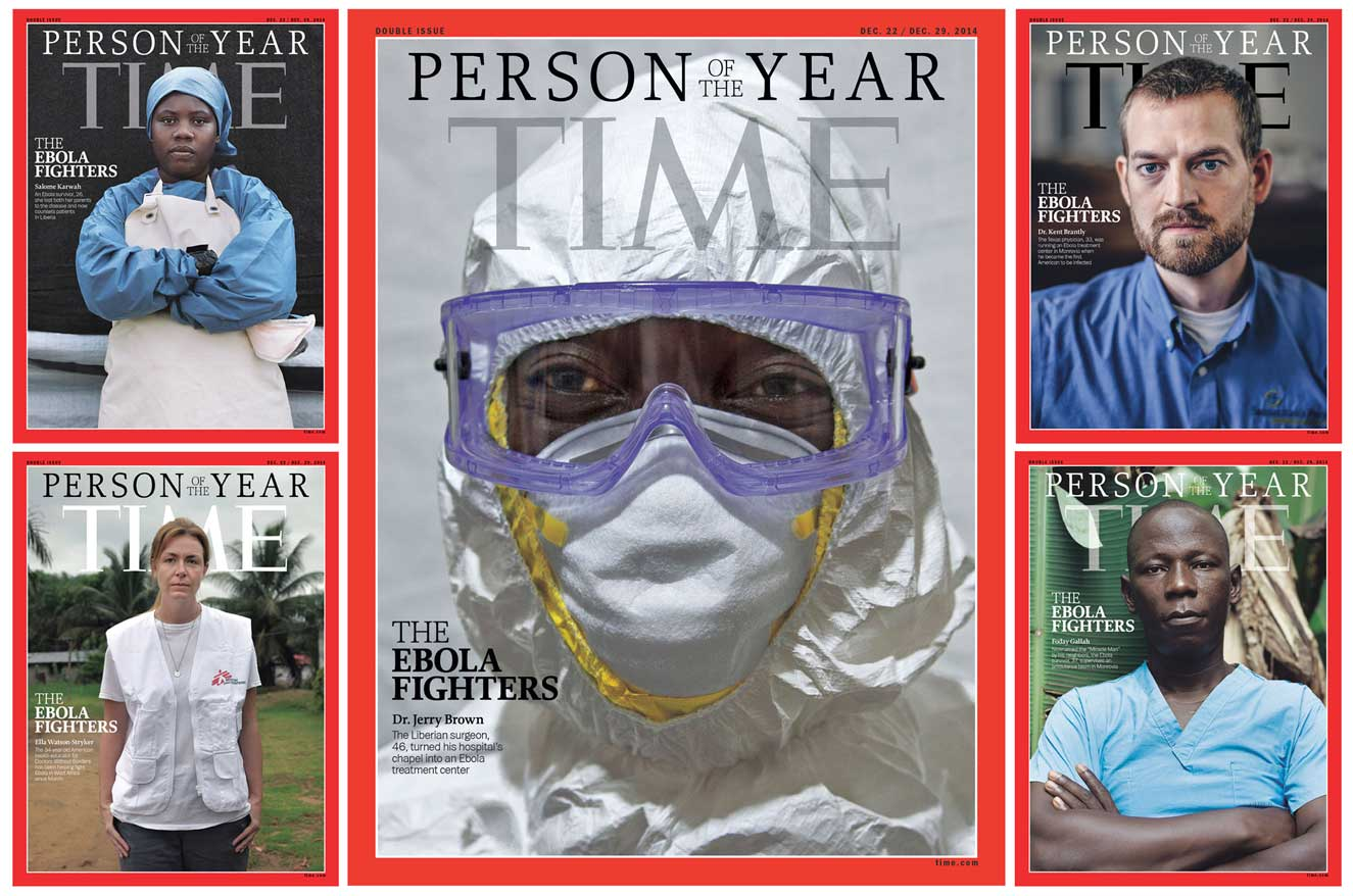 Time Magazine Reveals Their Person Of The Year; Ebola Fighters!