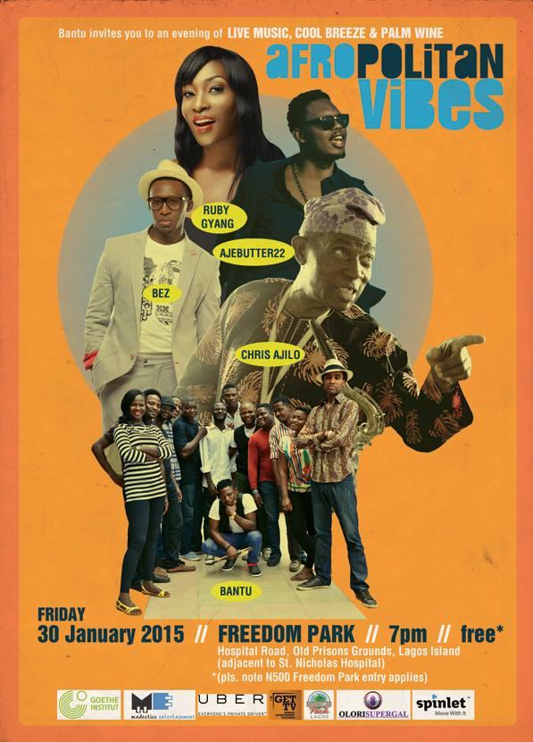 Upcoming: Afropolitan Vibes, January Edition