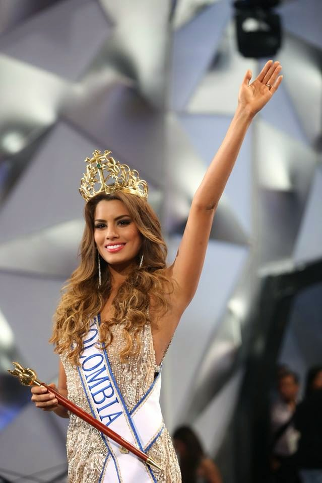 Miss Colombia, Paulina Vega Wins The 2015 Miss Universe Whilst Miss Nigeria Was Awarded Miss Congeniality