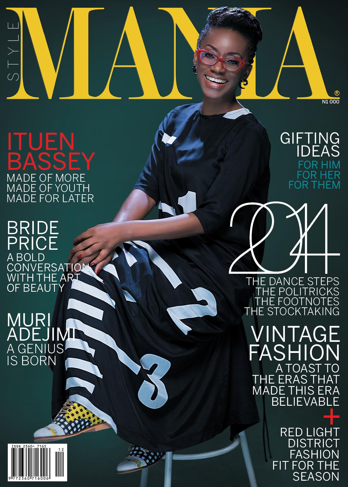 """Ituen Basi Covers Mania Magazines """"Celebration"""" Issue"""