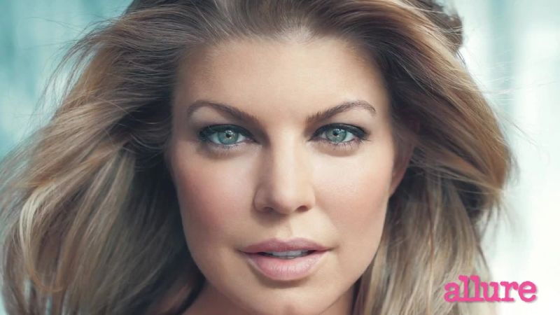Fergie For Allure Magazine's February 2015 Issue