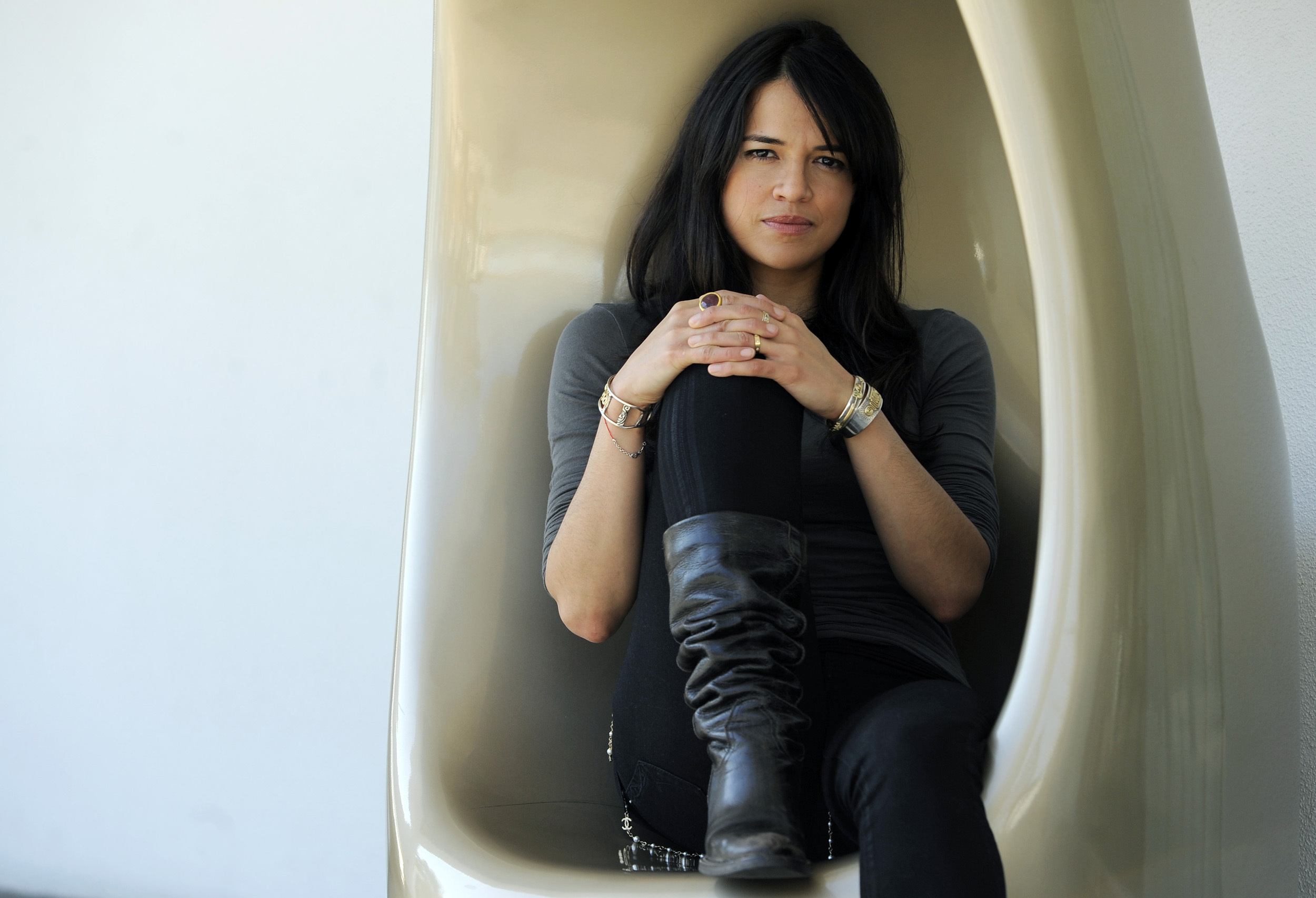 Fast And Furiuos's Michelle Rodriguez For Interview Magazine