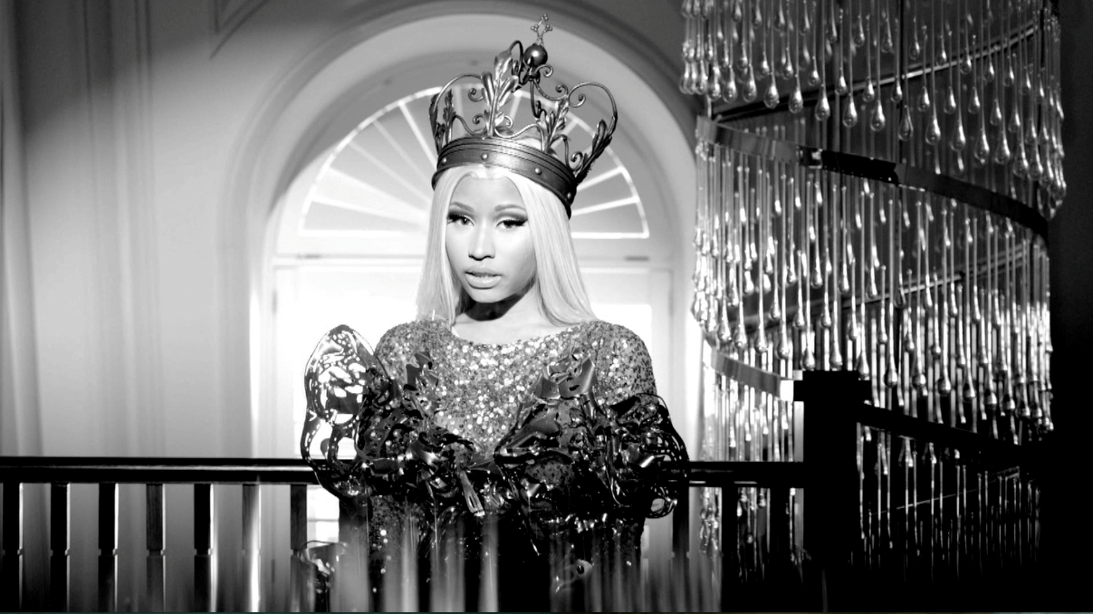Nicki Minaj's Rolling Stone Cover Outtakes!