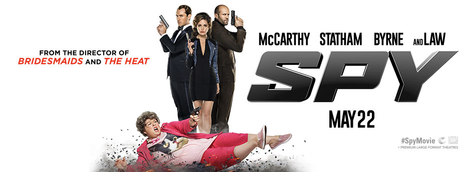 Watch Melisa McCarthy, Jude Law And Jason Statham In New Movie Trailer; Spy 'Red Band'