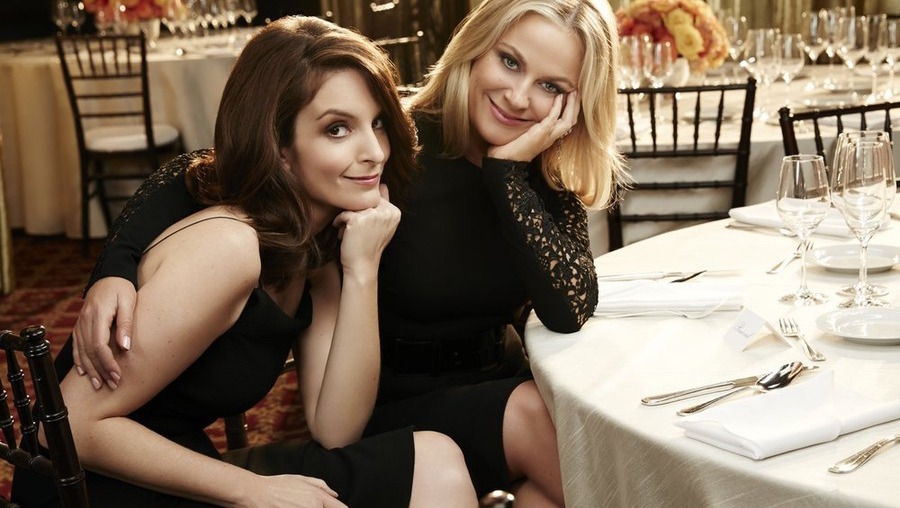 Watch Tina Fey And Amy Poehler Take On Bill Cosby And Sub David Oyelowo At The 72nd Golden Globes