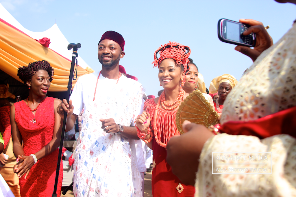 Osemhen & Kingsley, traditional wedding (pictures + video)