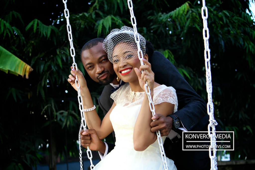 Osemhen & Kingsley, awesome water front wedding (pictures + video)