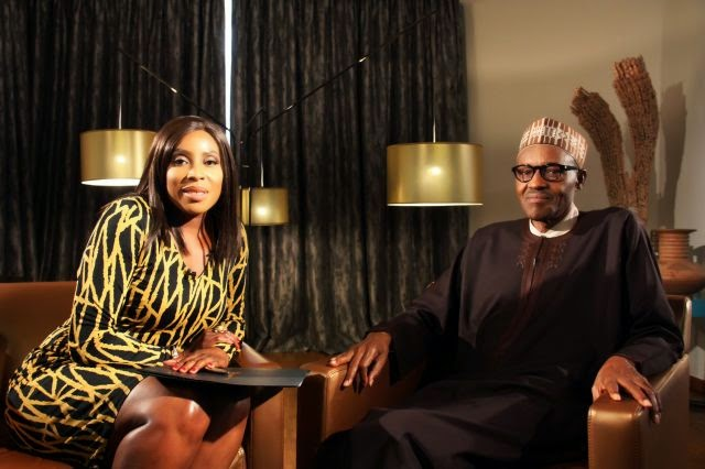 Watch Buhari's Interview On Moments With Mo