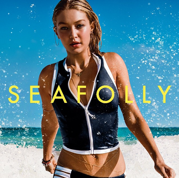 Gigi Hadid Is The New Face of Seafolly- Check Out The Campaign Pictures