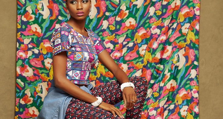 """Check Out The Look Book For Toju Foyeh's Ready to Wear Collection """"Rose Garden"""""""