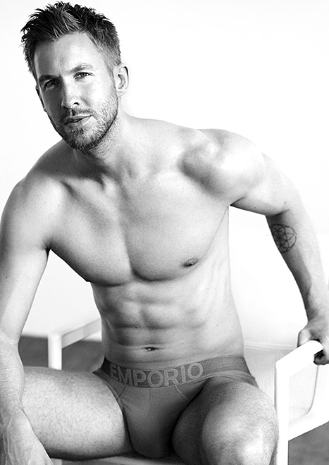 Check Out Calvin Harris's Campaign Pictures For Emporio Armani's Spring/Summer 2015 Line Of Underwear