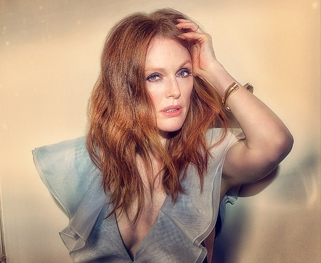 Oscar-Nominated Actress Julianne Moore Covers LA Confidential Magazine's Spring Issue