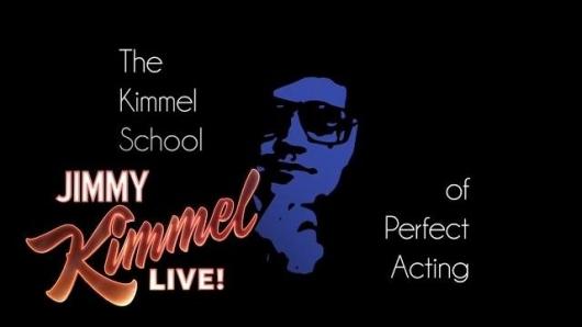 Watch Jimmy Kimmel's Hilarious School Of Perfect Acting Featuring Mila Kunis, Jennifer Aniston And Matt Damon