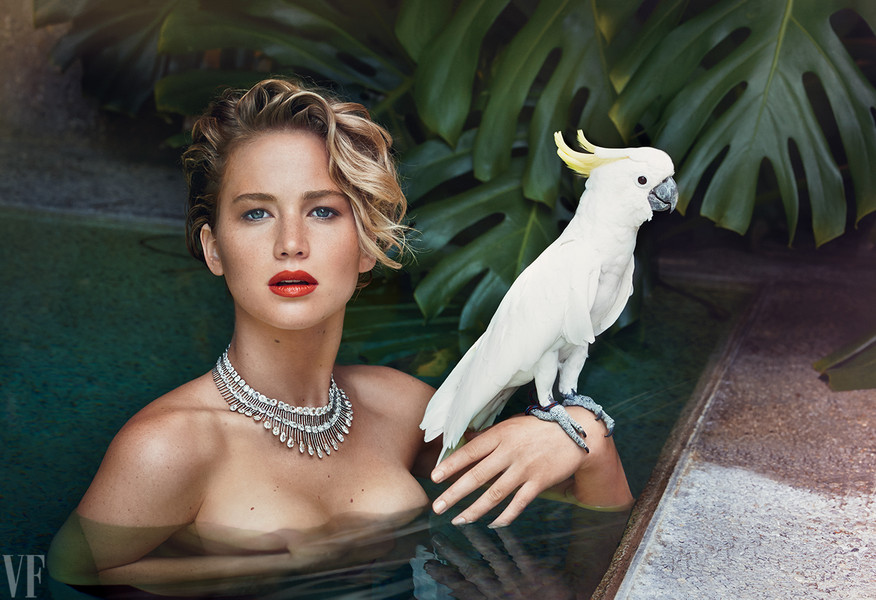 Jennifer Lawrence Goes Nude For Vanity Fair Magazine's March Issue