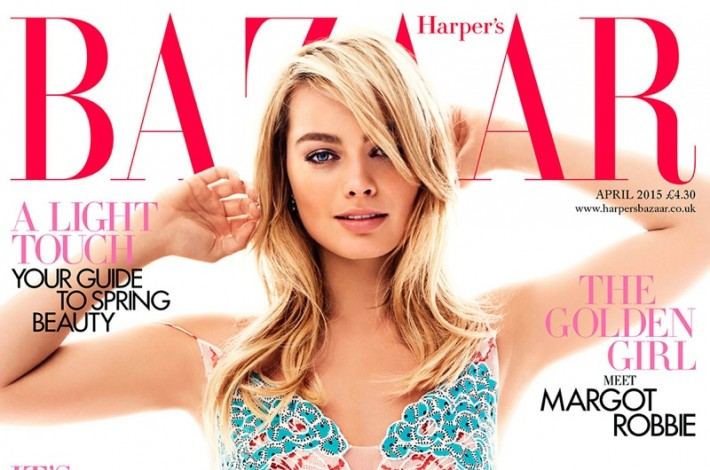 Margot Robbie Covers Harper's Bazaar UK And Dishes On Her 'The Wolf of Wall Street' Audition