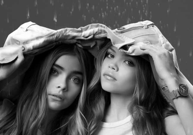 French watch brand Withings Channel Cara Delevingne And Kate Moss's My Burberry Fragrance Advertisements For Its Latest Activité Pop Watch Campaing