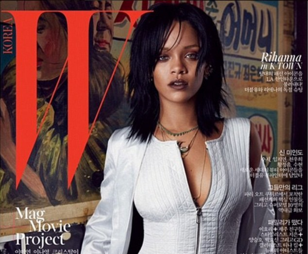 Check Out Rihanna's Covers For W Korea Magazine's 10th Anniversary