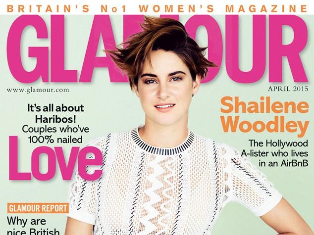 'Insurgent' Star Shailene Woodley Goes Topless For Glamour UK