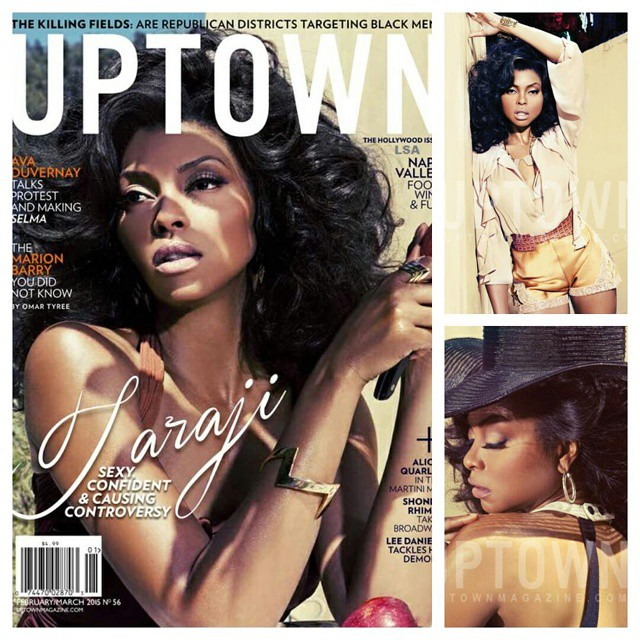 """""""I've come a long way from; Aye, that's that girl from Baby Boy""""- Taraji P Henson For Uptown Magazine"""