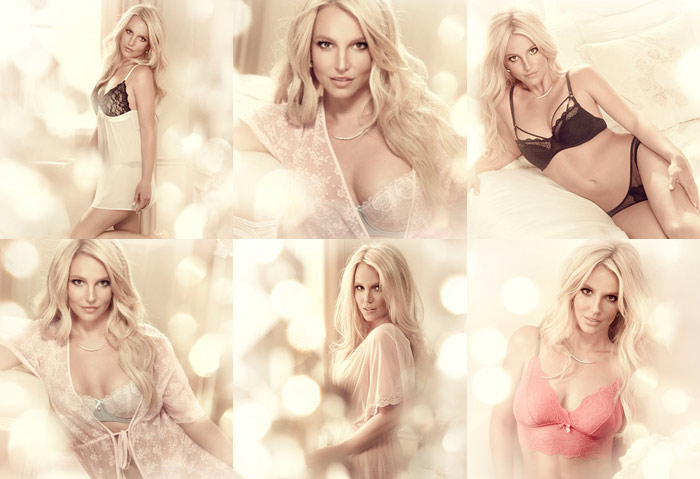 """Pop Star Britney Spears Releases Campaign Pictures For """"The Intimate Britney Spears"""""""