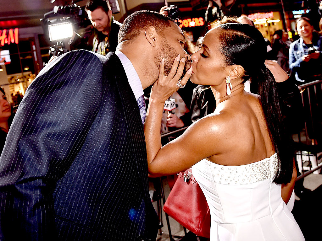 Actor Will Smith Dishes On His Marriage To Jada Pinkett Smith At The Focus Movie Premier