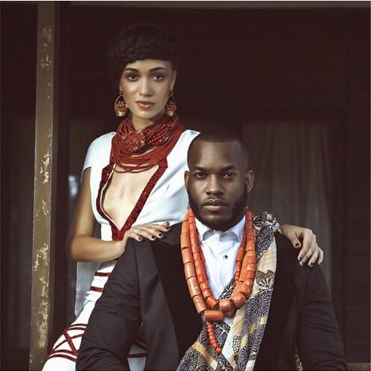 Eku Edewor And Lynxx Feature In ThisDay Style's Heritage Shoot