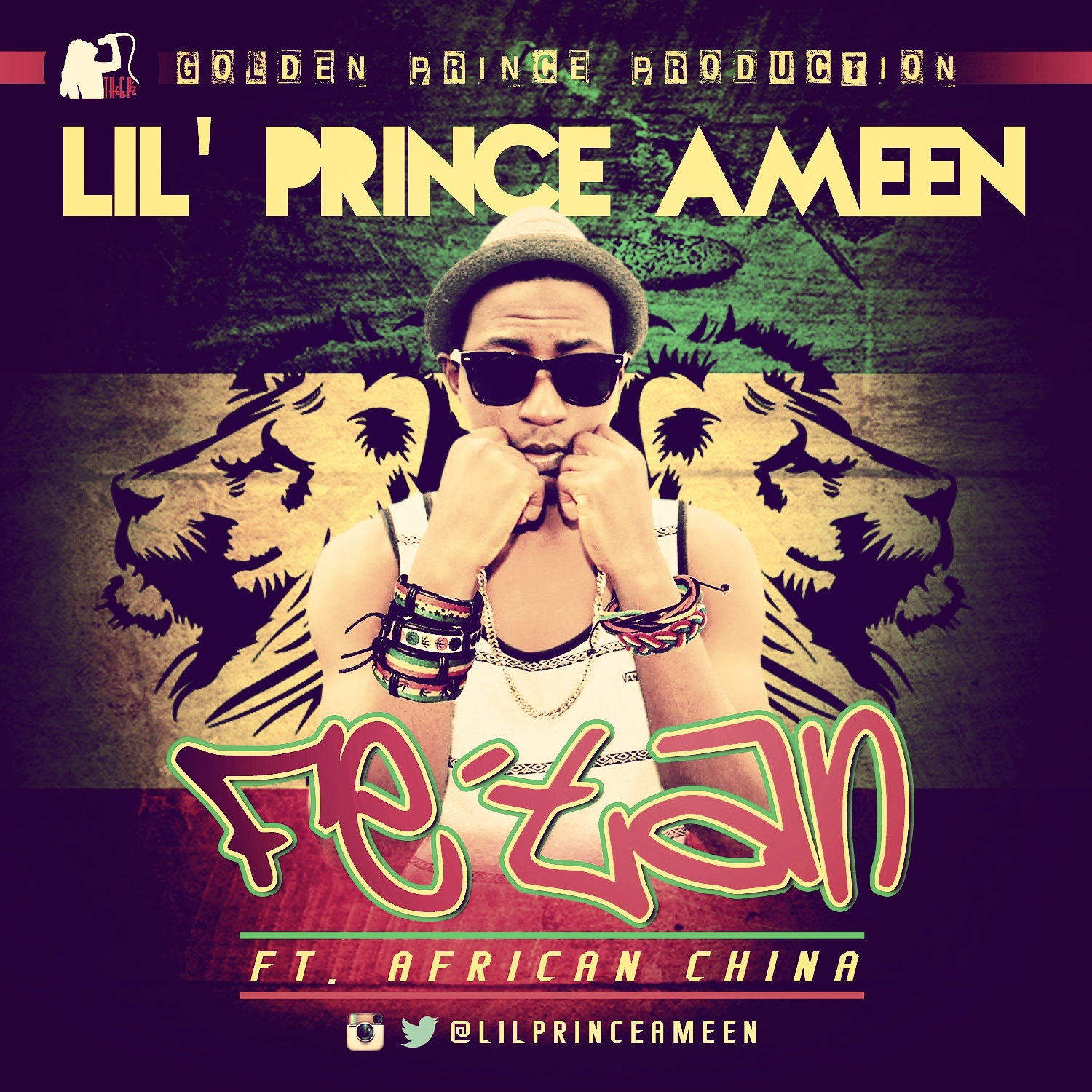 """Lil' Prince Ameen: """"Fe'tan"""" (featuring African China)  & """"Bless"""" (songs)"""